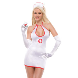 Naughty Nurse Costume from Coquette